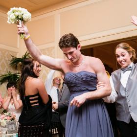 Steve in his wedding best!